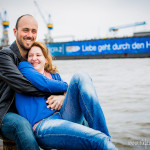 Engagement-Shooting in Hamburg – Judith und Patrick