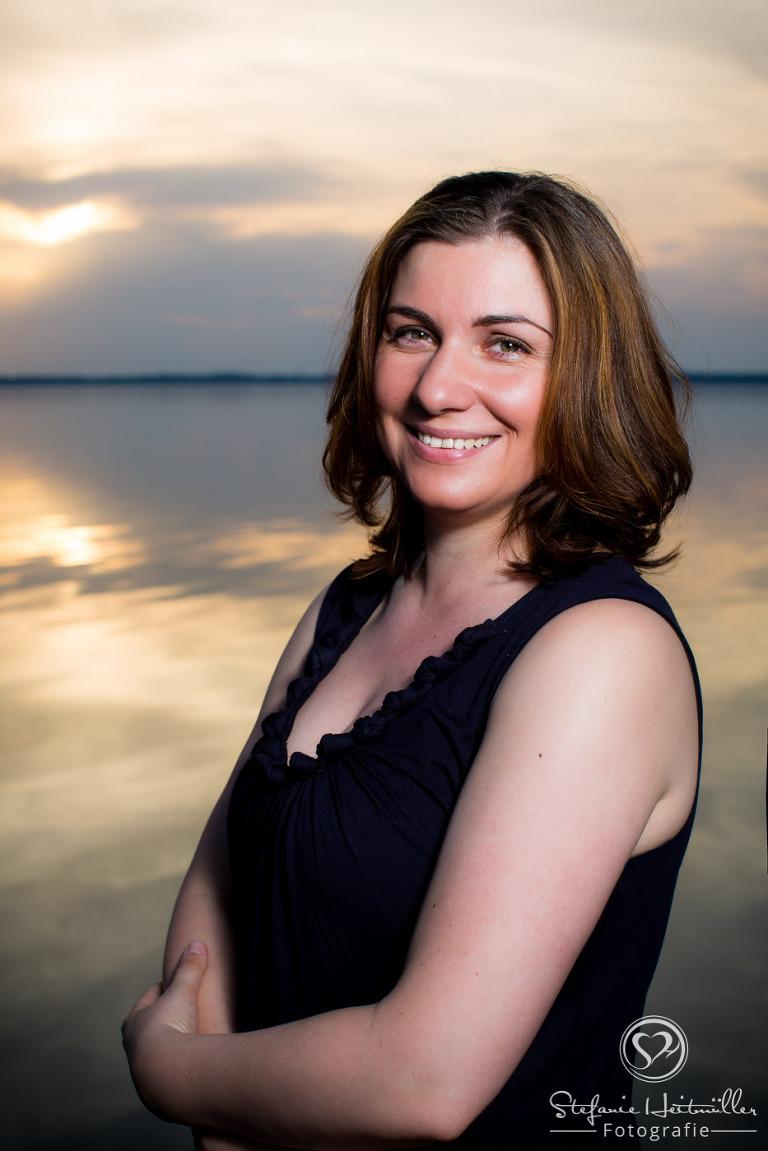 Die Freie Rednerin Sarah Sauerbier am Steinhuder Meer