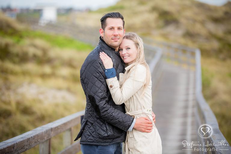 Hochzeitsfotograf Sylt Paarfotos in Kampen