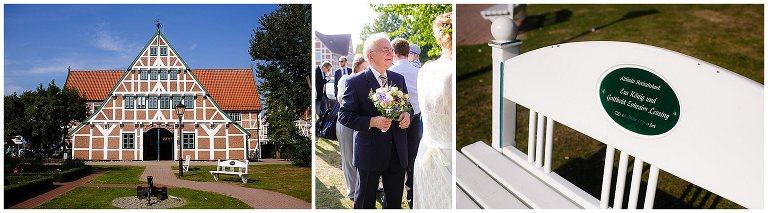 Als Hochzeitsfotograf in Sankt Peter Ording Hochzeitsfotos am Strand.