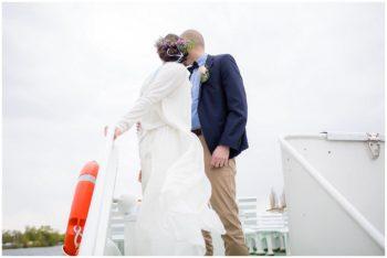Hochzeitsfotograf Hamburg Barkassenfahrt Hochzeit