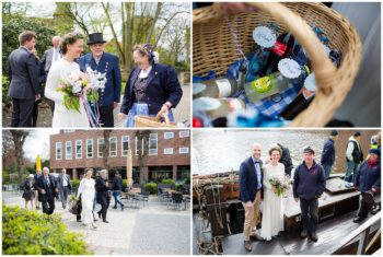 Hochzeitsfotograf Hamburg Barkassenfahrt Hochzeit Altes Land