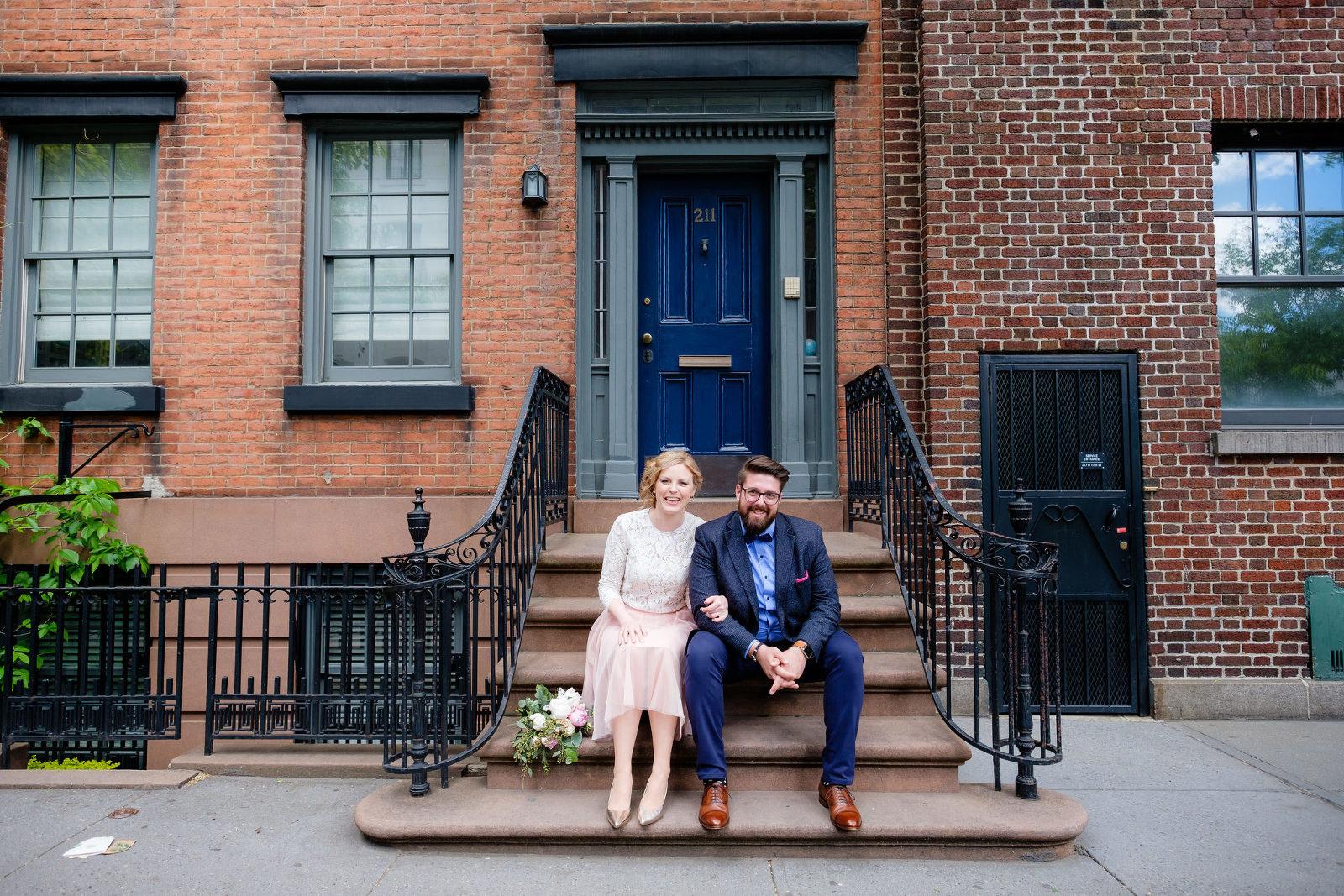 Hochzeitsfotos in New York Elopement deutschsprachiger Hochzeitsfotograf
