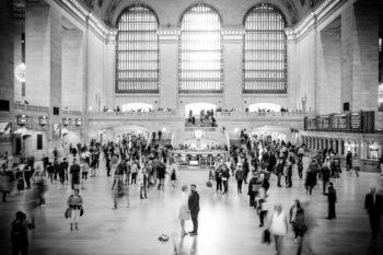 Hochzeitsfotos in der Grand Central Station in New York Elopement deutschsprachiger Fotograf